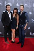 LAS VEGAS - APR 6:  Gloriana at the 2014 Academy of Country Music Awards - Arrivals at MGM Grand Gar