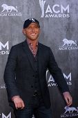 LAS VEGAS - APR 6:  Cole Swindell at the 2014 Academy of Country Music Awards - Arrivals at MGM Gran