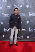 LAS VEGAS - APR 6:  Easton Corbin at the 2014 Academy of Country Music Awards - Arrivals at MGM Gran