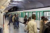 Paris Metro Station Mirabeau