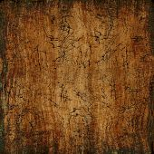 Grungy Wooden Texture As Abstract Background.