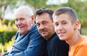 Three Generations Portrait