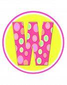 Alphabet Circle Party W