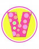 Alphabet Circle Party V