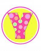 Alphabet Circle Party Y