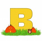 Alphabet Pumpkin Patch B