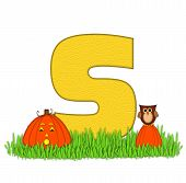 Alphabet Pumpkin Patch S