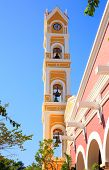 Bell Tower Of Spanish Church, Mexico