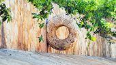 Stone Mayan Hoop