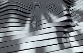 metal stripes background