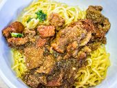 Chinese Egg Noodles And Roasted Duck