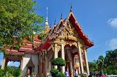 Phuket, Thailand - April 15, 2014 : Wat Chaitharam Or Wat Charong On April 15, 2014