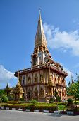 Phuket Thailand - April 15 2014 : Wat Chaitharam or Wat Charong