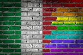 Dark Brick Wall - Lgbt Rights - Italy