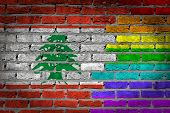 Dark Brick Wall - Lgbt Rights - Lebanon