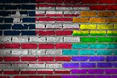 Dark Brick Wall - Lgbt Rights - Liberia