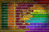 Dark Brick Wall - Lgbt Rights - Sri Lanka