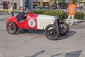 Old French Car Car Amilcar Cgss (1928)