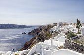 Oia village on the island of Santorini