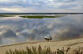 Volga Sand Riverside At Sviyazhsk
