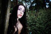 Vampire Gilr Portrait