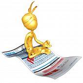 Gold Guy Djinn On Past Due Bill Magic Carpet