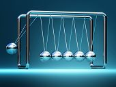 foto of newton  - newton cradle fine 3d image background illustration - JPG