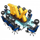 Tax Meeting Concept