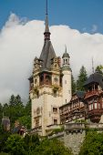 Peles Castle Clock Tower