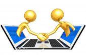 Gold Guys WWW Handshake