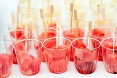 Cups With Watermelon