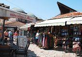 Shops In Bascarsija, Sarajevo