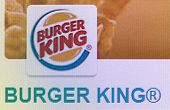 Close-up Open Company Logo Burger King On A Home Computer Screen