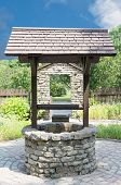 Old wishing well