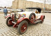 Rally Of Classical Cars, Moscow, Alfa-romeo