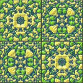 Glazed Tiles Seamless Generated Hires Texture