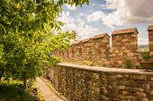 Inside Veliko Tarnovo castle