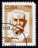 Postage Stamp Cuba 1996 Calixto Garcia, Revolutionary