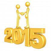 Gold Guy Business Handshake 2015