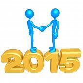 Business Handshake 2015