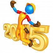 Construction Worker Success 2015
