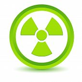Green nuclear icon