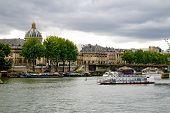 Parisian river view