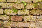 Closeup of bricks wall