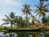 image of alleppey  - View at Alleppey India at sunny day - JPG