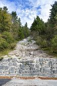 Moraine In Alps