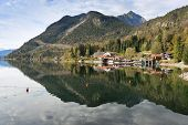 Waterfront From Walchensee Bavaria