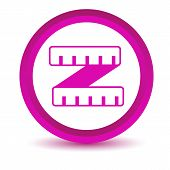 Purple roulette icon