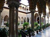 The Real Alcazar in Seville, Spain