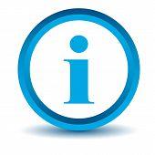 Blue info icon